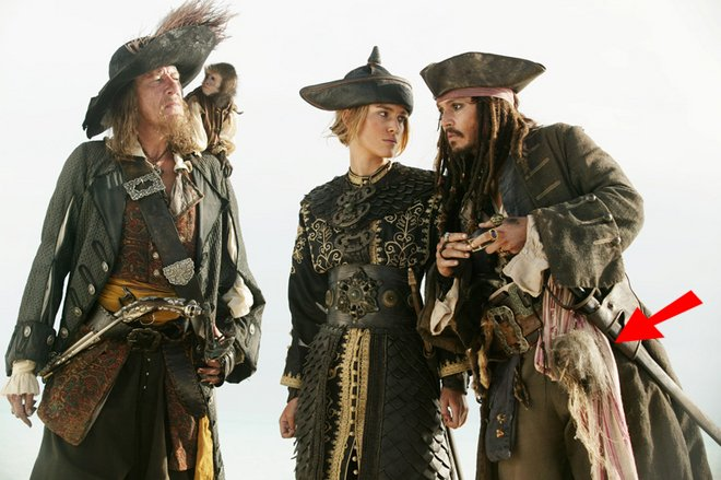 Pirates of the caribbean movie costumes creating the benchmarks