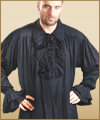 Renaissance pirate gypsy gothic shirt