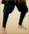 Renaissance pirate gypsy gothic pants