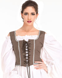 Reversible Wench Bodice (Decorated) II