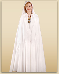 Hooded Cotton Cloak