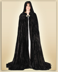 Midnight Fantasy Cloak (Black)