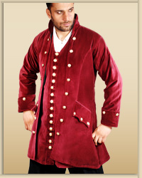 Plus Size Captain England Coat