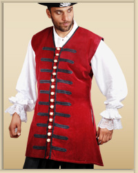 Plus Size  Captain England Vest