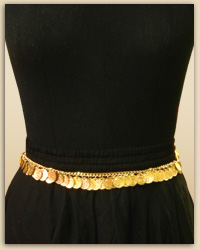 Gold Chain Waist Belt II