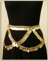 Gypsy Queen Gold Waist Belt