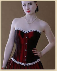 Red Dutch Corset