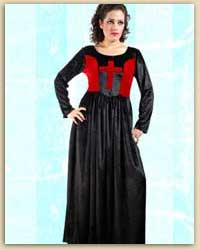 Gothic Cross Long Dress
