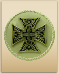 Royal Cross Buckle (Silver)