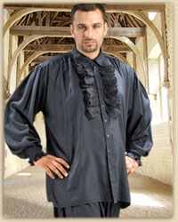 Plus Size Medieval Dress Shirt