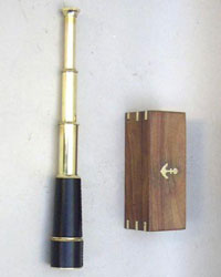 Pullout Telescope 18 inch with Wooden Box