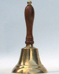 Nautical Brass Captains Table Bell