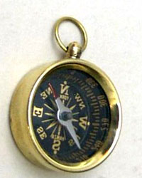 Open Face Mini Compass