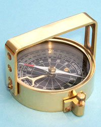 Clinometer Handle Compass (with Leather Case)