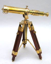 Solid Brass Mounted Telescope 12inch