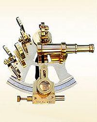 Nautical Sextant 4inch with Wooden Box