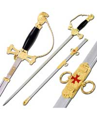 The Knights of St John Sword & Sheath