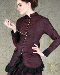 Brocade Dinner Blouse