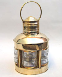Lighthouse Lantern Rounded 5 Side Oil Lamp