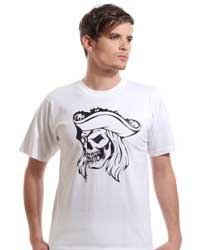 Skull of Pirate Captain T-shirt