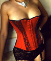 Royal Red Corset