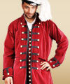 Plus Size Captain Benjamin Coat