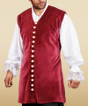 Plus Size Captain Benjamin Vest
