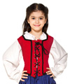 Child's Reversible Wench Bodice